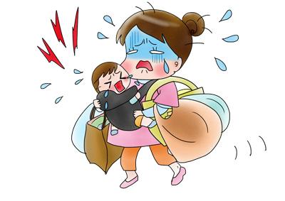 赤ちゃん 荷物が多い
